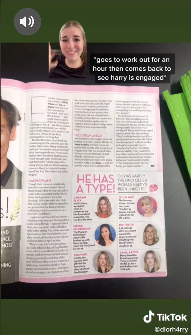 The rumour shocked Harry Styles' fans.