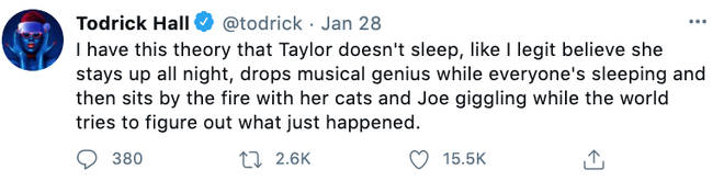 Todrick Hall fuelled rumours his bestie Taylor Swift is up to something