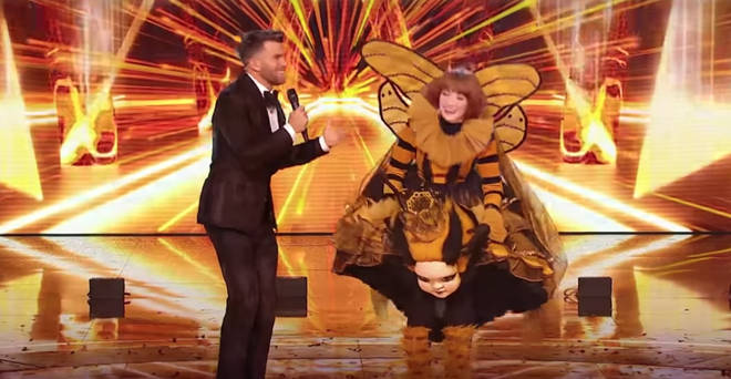 Nicola Roberts was crowned the winner of the UK's first Masked Singer series.