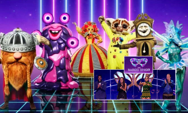 The Masked Singer 2021 UK has an all-star line-up with 12 new contestants!