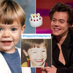 Harry Styles' fandom has shared adorable snaps of the hitmaker for his birthday