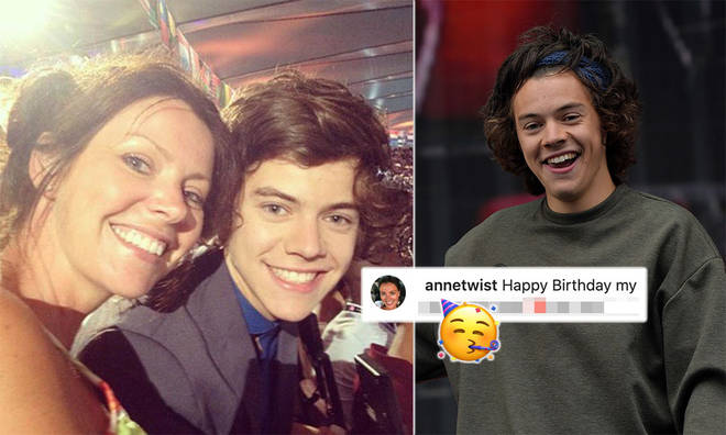 Harry Styles' mum shared a heartwarming post for her son's birthday.