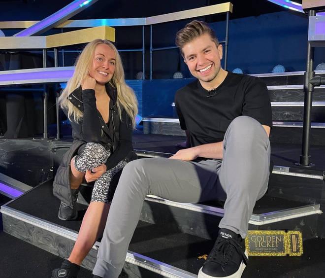 Sonny Jay with partner Angela Egan