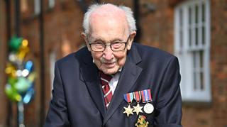 Captain Sir Tom Moore has passed away