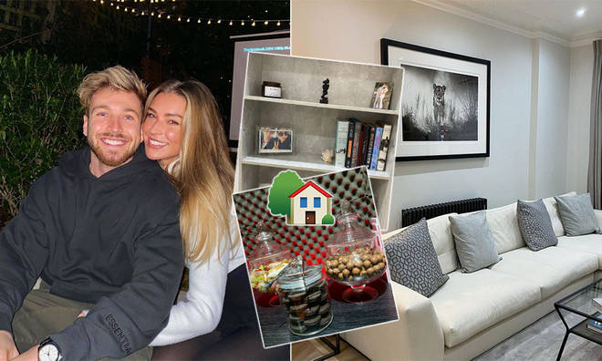 Zara McDermott has shared a glimpse of her home with Sam Thompson
