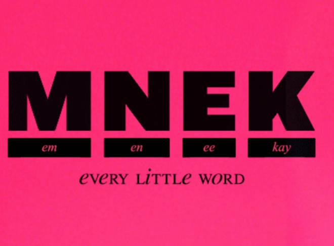 MNEK has written a lot of huge hits.