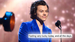 Harry Styles thanked fans for the birthday love