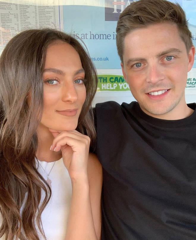 Dr Alex and ex-girlfriend Amelia Bath