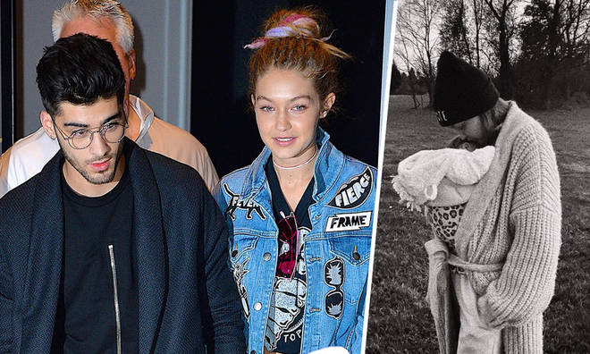 Gigi Hadid now has a matching tattoo with boyfriend Zayn of their baby's name