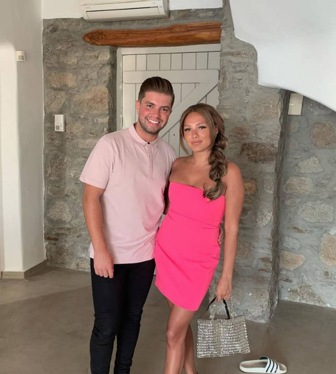 Sonny Jay and Lauren Faith got engaged in August 2020
