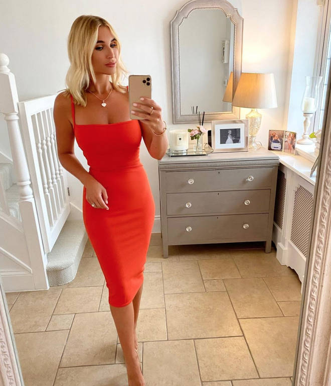 TOWIE's Billie Faiers is on the 2021 Dancing On Ice line-up.