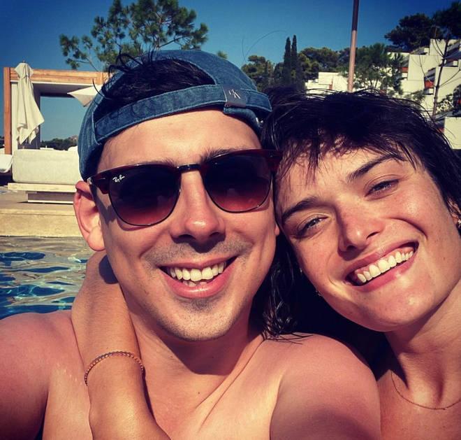 Matt Richardson is dating model Sam Rollinson.