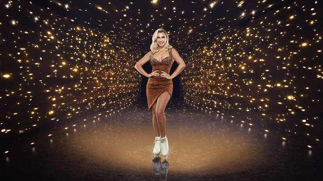 Billie Faiers sustained a head injury during Dancing on Ice rehearsals