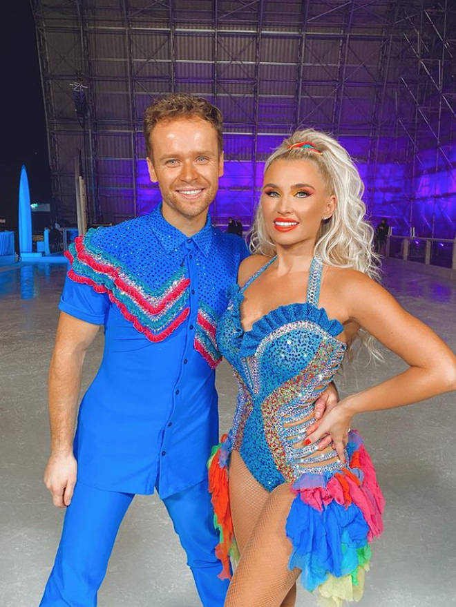 Billie Faiers and Mark Hanretty have had to quit Dancing on Ice