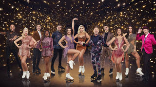 A number of celebrities have had to quit Dancing on Ice