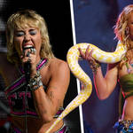 Miley Cyrus shouted out Britney Spears during TikTok Tailgate concert
