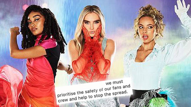 Little Mix have postponed their Confetti tour to 2022