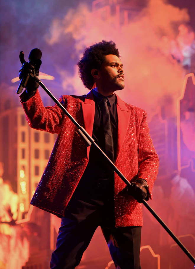 The Weeknd performed nine of his biggest hits.