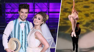 Dancing on Ice: Sonny Jay has injured his thumbs from all the lifts with Angela Egan