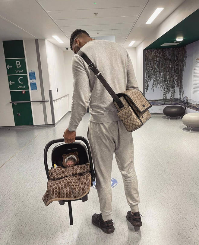 Theo Campbell welcomed a baby boy in February 2021.
