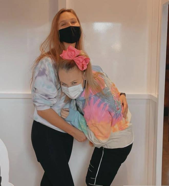 Jojo Siwa celebrated one month with her girlfriend Kylie