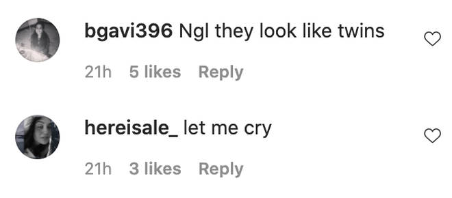 Zayn's fans rushed to comment on the snap.
