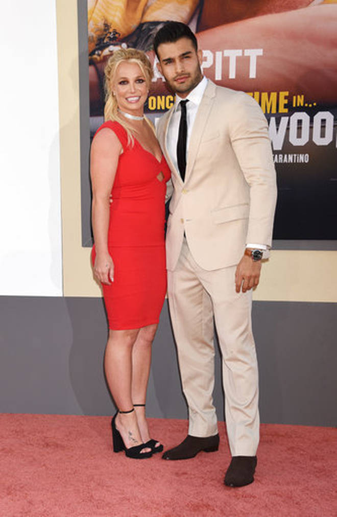 Britney Spears and Sam Asghari have been dating for four years.