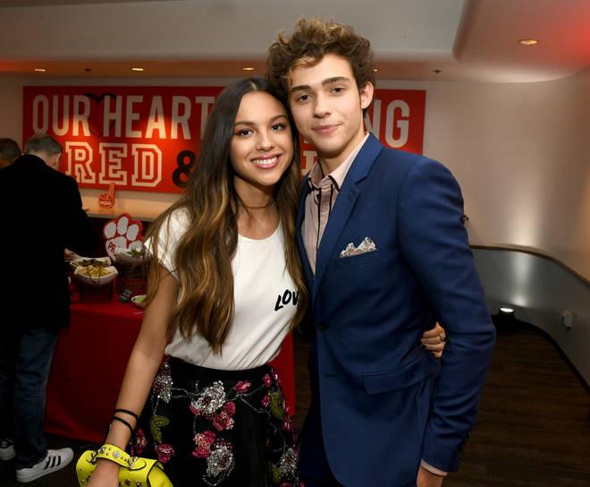 Olivia Rodrigo and Josh Bassett star in High School Musical: The Musical –The Series