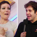 Halsey gets first baby gift from David Dobrik