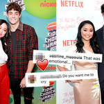 Lana Condor and Noah Centineo left fans emotional with their heartwarming letters.