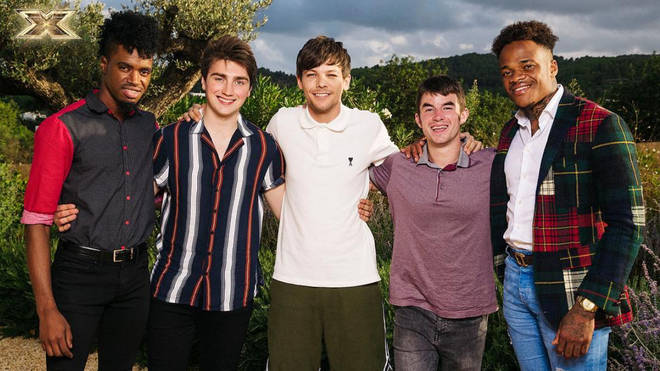 Louis Tomlinson's act Armstrong Martins was one of the first stars voted out of the X Factor 2018