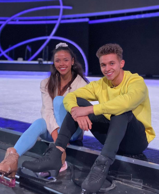 Vanessa Bauer and Joe Warren Plant are devastated to have to leave Dancing on Ice