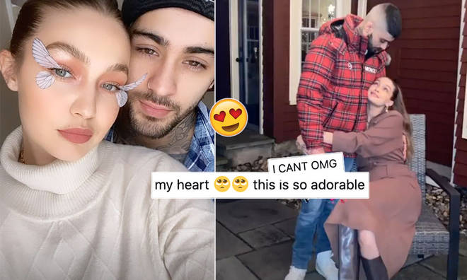 Gigi Hadid shared family pics with Zayn and baby Khai.