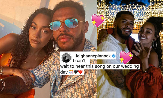 Leigh-Anne Pinnock shared a heartfelt post for Andre Gray on Valentine's Day.