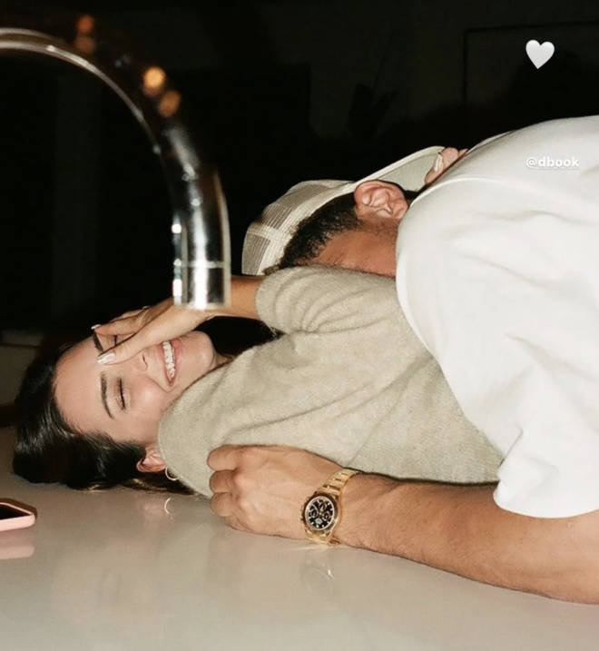 Kendall Jenner took her relationship public on IG with this photo