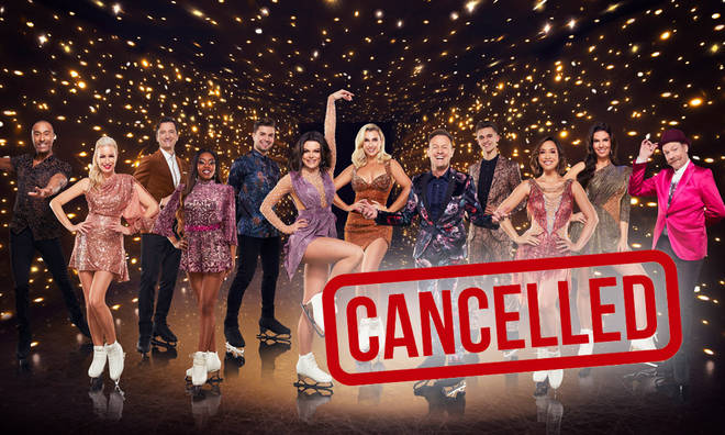 This week's Dancing On Ice has been cancelled due to too many injuries
