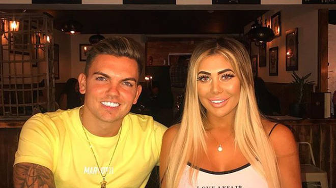 Chloe Ferry and Sam Gowland are rumoured to have split up.