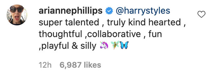 People rushed to comment on Harry Styles' talent.