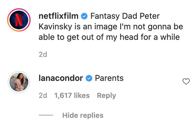 Lana Condor gave her seal of approval.