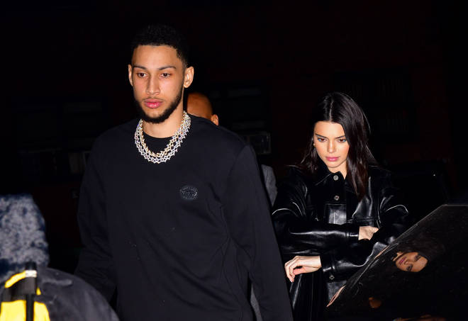 Kendall Jenner and ex-boyfriend Ben Simmons