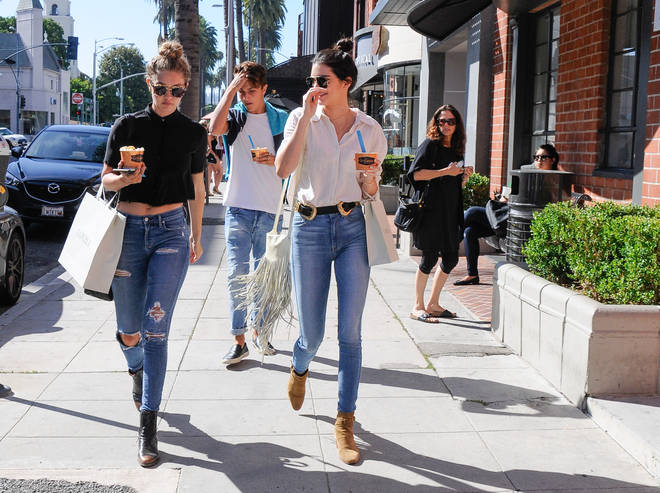 Kendall Jenner is close friends with the Hadid family
