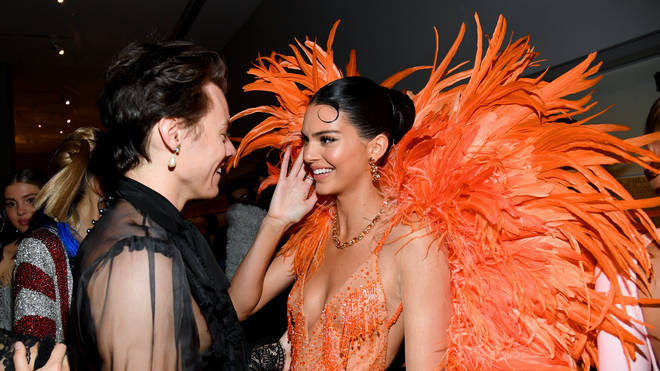 Kendall Jenner and Harry Styles at the 2019 MET Gala