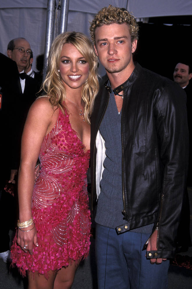 Britney Spears and Justin Timberlake dated for two years