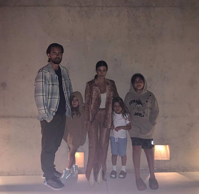 Kourtney Kardashian has three kids with ex Scott Disick