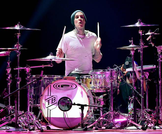 Travis Barker is the Blink 182 frontman