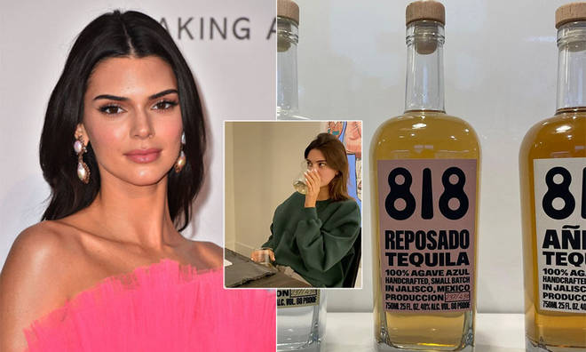 Kendall Jenner launched her own line of tequila.