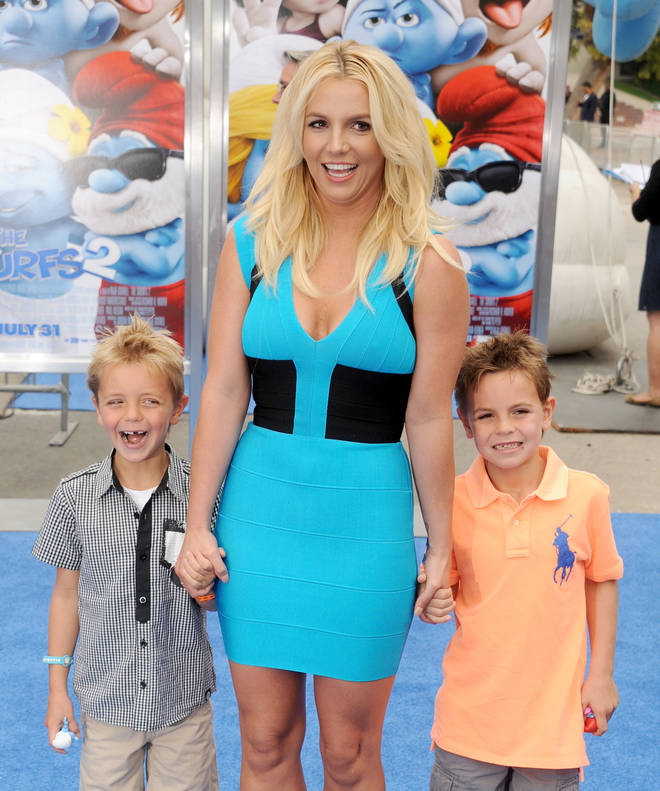 Britney Spears shares two sons with Kevin Federline.