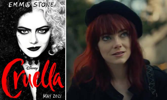 Emma Stone is Cruella in Disney's new movie