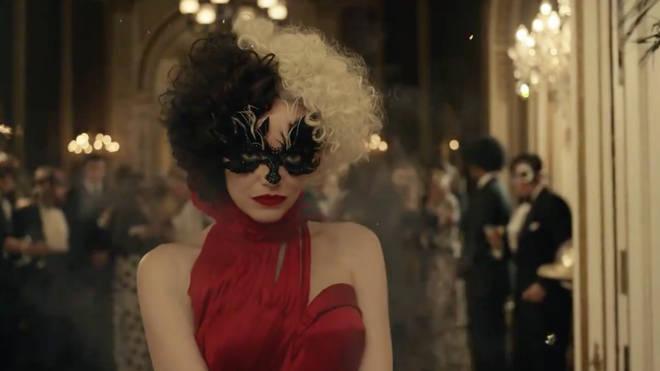 Emma Stone looks fabulously evil in the trailer for Cruella