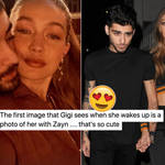 Fans couldn't get over how cute Gigi Hadid's snap of Zayn was.